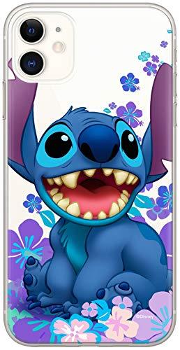 ERT GROUP Original & Offiziell Lizenziertes Disney Lilo & Stitch Handyhülle für iPhone 11, Hülle, Hülle, Cover aus Kunststoff TPU-Silikon, schützt vor Stößen & Kratzern