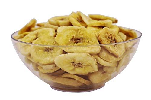 Getrocknete Bananen Chips Mit Kokosöl ohne Zucker - Premium Qualität - 1Kg - Zufrieden oder Rückerstattung