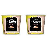 [FARMSKIN] ファームスキン スーパーフード ミックスクレイ クレイパック クレイマスク モデリングパック マスクパック 保湿マスク 水分マスク 栄養たっぷり セルフケア ピンクソルト Pink Salt (2個セット)