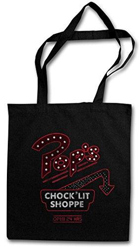 Urban Backwoods Pop's Hipster Bag Beutel Stofftasche Einkaufstasche