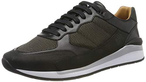 BOSS Element_Runn_numx, Herren Sneaker, Schwarz (Black 001), 43 EU (9 UK)