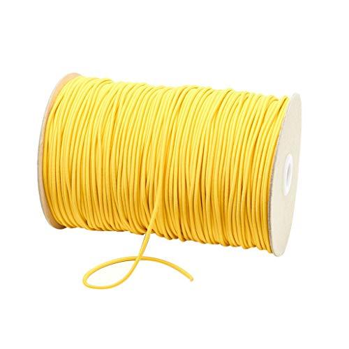 Elastische Bänder für Gesicht Breite elastische Schnur für Crafts elastisches Seil, Gummi-+-band Breit zum Nähen, Wäschegummi Gummizug Gummilitze Elastisches Elastic Band Nähzubehör 3mm 10m (B)