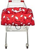 Safety 1st Caddy Protect Funda de protección Carrito de compras, Protector para el carro de la compra, color Red Campus
