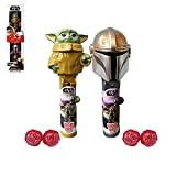 Star Wars Pop Up Lollipop Case The Mandalorian and The Child Candy Valentine's Day Set