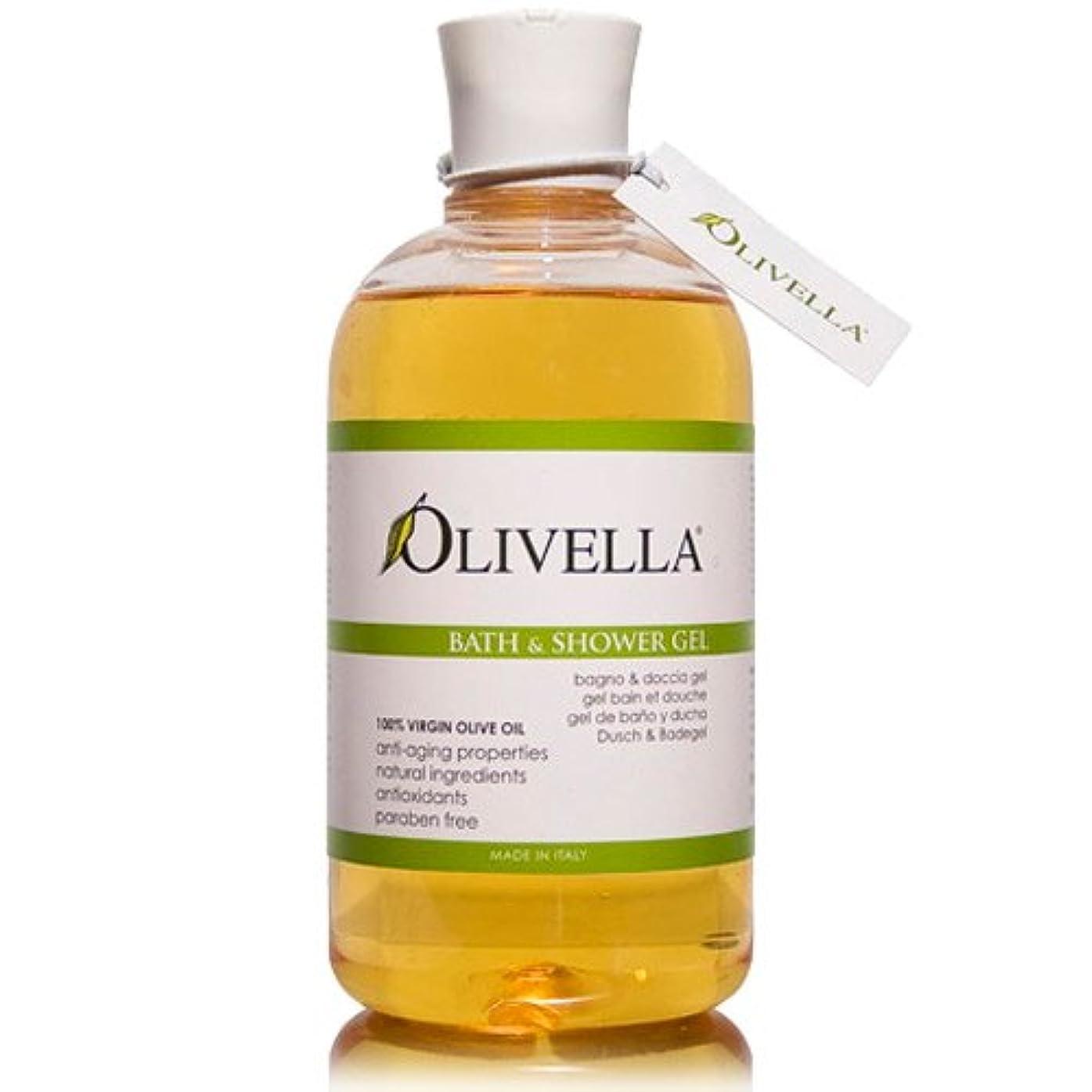 補正緊張Olivella Olive Oil Bath & Shower Gel Original/Classic 16.9 oz. / 500 ml (並行輸入品)