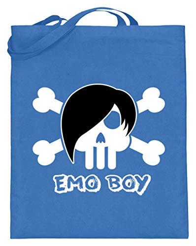 Emo Boy - Punk, Rock, Hardcore-Punk, Emotional Hardcore, Mode, Haar, Musikgenre, Jugend - Jutebeutel (mit langen Henkeln)