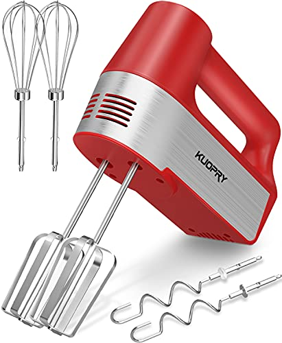 Kuopry Hand Mixer Electric, 5-Speed Handheld