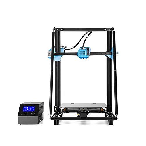 HYTM Impression 3D Big Industrial Impresora 3D Taille d'impression Abs Filament 300 * 300 * 400Mm Et La Carte SD Gratuite Pièces De Rechange, CR-10 V2