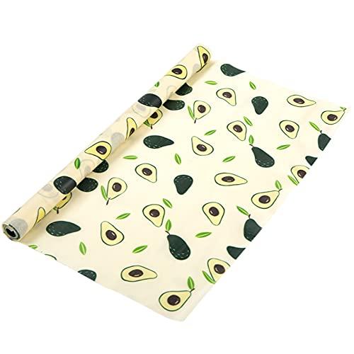 GZWY Rollo de papel de cera de abejas para manualidades, papel de cera, papel de mantequilla, papel antiadherente, se puede cortar para almacenamiento de alimentos, embalaje de queso y sándwich (D)