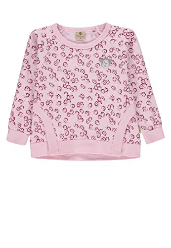 Bellybutton mother nature & me Baby-Mädchen 1/1 Arm Sweatshirt, Mehrfarbig (Allover|Multicolored 0003), 80