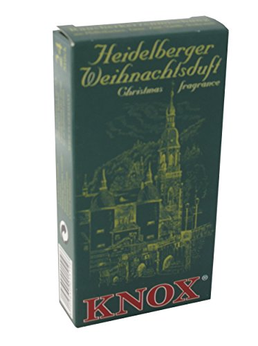 Knox Heidelberg German Incense Cones Made in Germany for Christmas Smokers