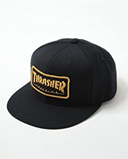 (スラッシャー) THRASHER WAPPEN CAP RED