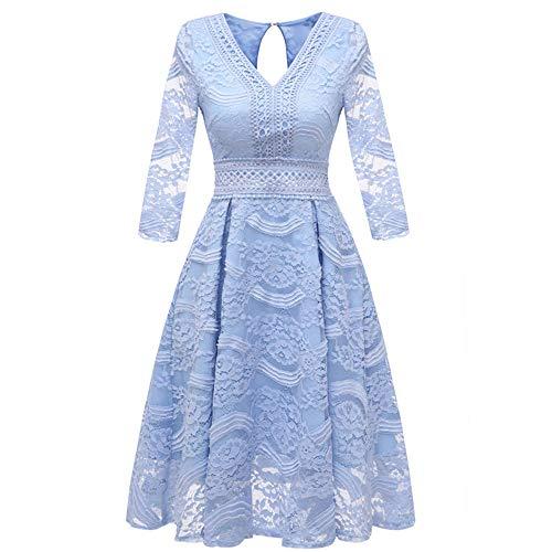 Women's clothing Schlanke Spitzekleid, Sieben Lange Ärmel Spitze der Haute Couture Kleider, Brautkleider und Lange Abschnitte kleiden ZDDAB