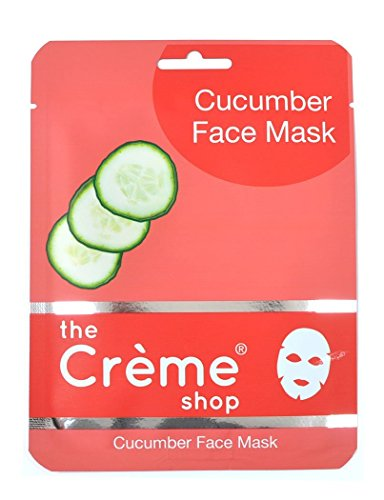 Cucumber Face Mask 5 Packets in Box