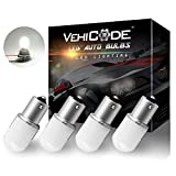 VehiCode Low Volt 12-24v 1141 1003 93 1295 LED Bulb Daylight Natural White 1156 Bright Replacement for RV Camper Interior Dome Vanity Reading Light Exterior Porch Outdoor Landscape Light (4 Pack)