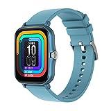 YQRDSHJS Reloj inteligente P8 Plus de 1,69 pulgadas, pantalla táctil HD, monitor de sueño, pulsómetro, resistente al agua, reloj deportivo para hombre y mujer