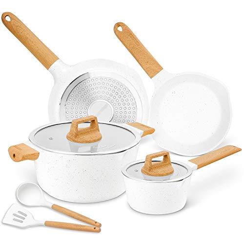 Cookware Set Nonstick 100% PFOA Free Induction...