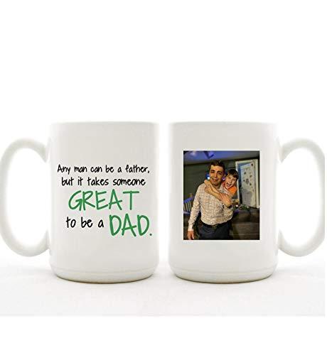 Regalo de boda para el padre de la novia | Taza | Personalizada Gratis | Gran Padre | Día del Padre | Abuelo | Pops | PaPa | Padrastro | Baby Reveal