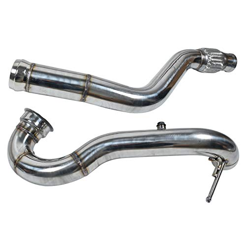 waltyotur 3 inch Downpipe Replacement for Mercedes Benz 2014-2016 A45 AMG 2014-2015 CLA45 AMG 2.0L
