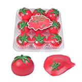 Sticky Globbles Bolas tomate Sticky Squeeze Toy Fidget Toy, 9 Pack Anti Stress Squeeze Balls for ansiety Relieve, Juguetes sensoriales para autismo, TDAH, Soft Silicone Toy Trajes para niños y adultos