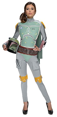 Women's Star Wars Boba Fett Deluxe Costume Jumpsuit