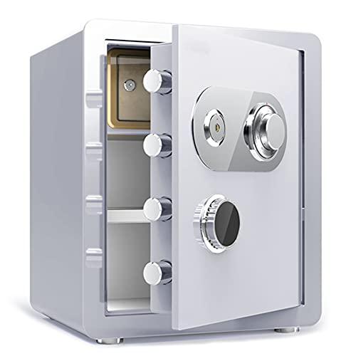 DAPAO Caja Fuerte, Caja Fuerte Digital para el Hogar, Caja de Seguridad Electrónica, Caja Fuerte Pequeña Antigua, Disponible en Cuatro Colores (45x38x33cm)