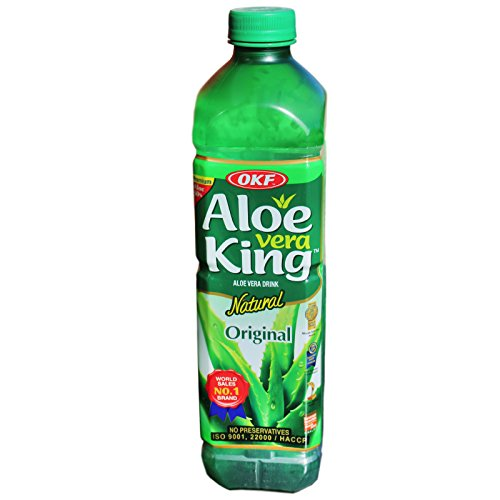 OKF - Aloe Vera King, Original - 12er Pack (12 x 1,5L) - 1 Karton Aloe Vera Getränk