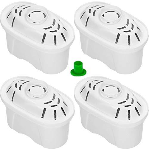 Spares2go - Cartucho de filtro de agua compatible con jarra Brita Aluna Elemaris Fun Marella Maxtra Style XL (paquete de 4)