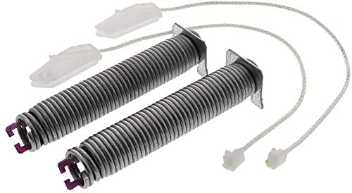 Price comparison product image XPARTCO 00754873 Dishwasher Door Hinge Spring and Cable Kit Replaces 00626664,  3279710,  AP5802936,  PS8769724