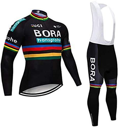 logas Completo Ciclismo Uomo Estivo Maglia MTB Maniche Corte Squadra Professionale Tuta Bici da Corsa