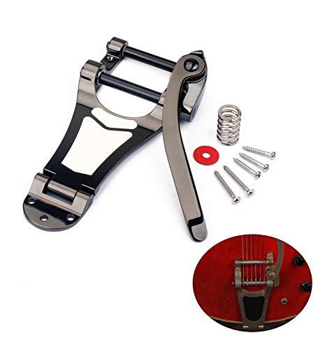 MooKe Gitarre B7 Tremolo Vibrato-Brücke Tailpiece für Arch Top E-Gitarre, Easy Guitar Instrumente Zubehör zu tragen