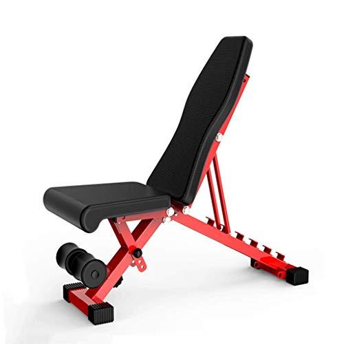 Baibao Sit-up Brett Startseite Multifunktions verstellbare Falten Hantel Bank-Männer und Frauen Bauchmuskeln Übung Sporttraining Sportgerät