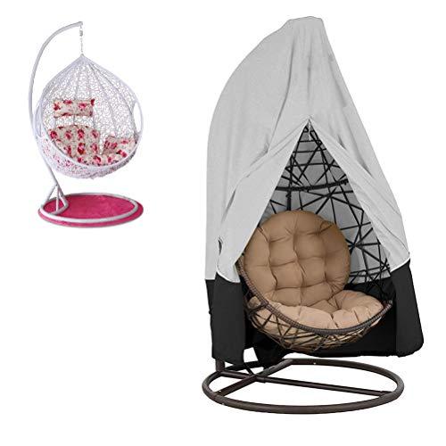Babitotto - Funda protectora para silla de jardín, resistente al agua, resistente al agua, para muebles de exterior, cubierta para columpio de jardín