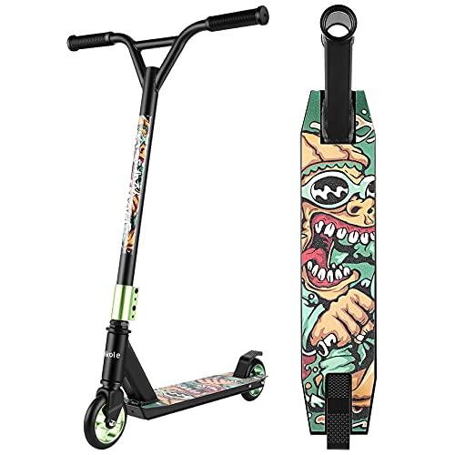 WeSkateScooter FreestyleNiñosyAdultosPatinete FreestyleGiratoriode360GradosconPlataformaAntideslizante 85cm 7Años o más