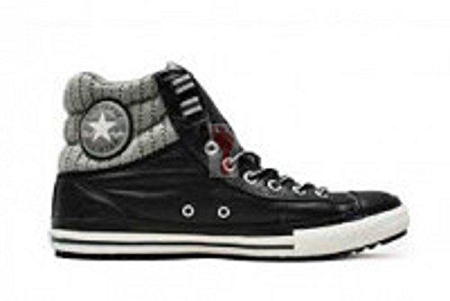 Converse , Herren Sneaker, Mehrfarbig - Schwarz/Grau - Größe: 7 UK