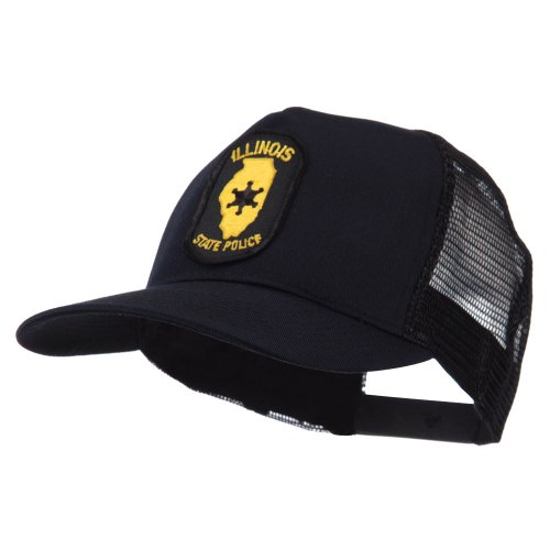 e4Hats.com USA Eastern State Police Embroidered Patch Cap - IL State OSFM