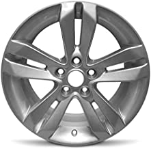 Road Ready Car Wheel For 2010-2013 Nissan Altima Full Size Spare 17 Inch 5 Lug Aluminum Rim Fits R17 Tire - Exact OEM Replacement - Full-Size Spare