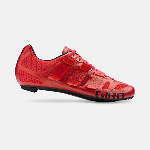 Giro Herren Rennradschuhe Prolight Techlace Road, Herren, 7089080, hellrot, 4.5 UK