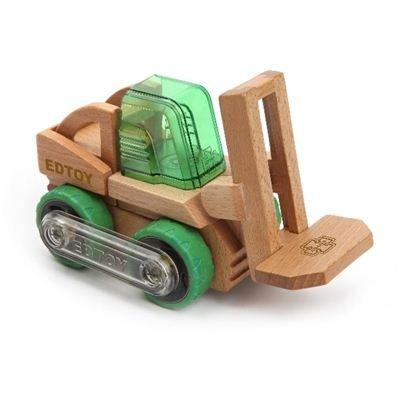 Véhicule de chantier en bois - Transformobile : Elevateur