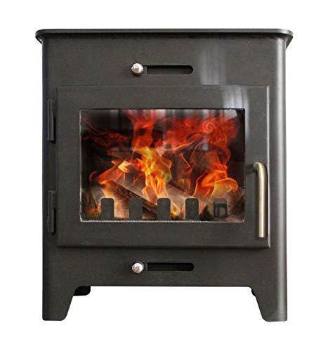 Saltfire ST1 Wood Burner Stove 5kW DEFRA Approved EcoDesign Clean Burn High Efficiency Wood Log...