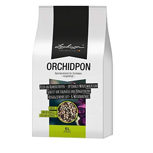 Lechuza ORCHIDPON Orchideen-Mix, 6 Liter