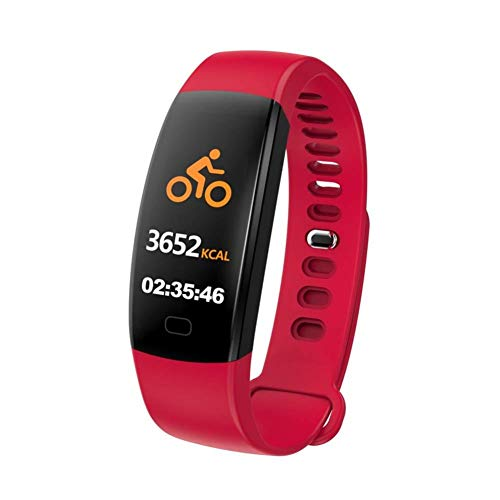 ZKKZ Smart Watch F64HR Pulsera Inteligente Ritmo cardíaco/Presión Arterial Oxígeno IP68 Fitness Pulsera Rastreador GPS Reloj para iPhone iOS Mi Band 2 3 GT101