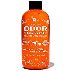 Get Rid Of The Toughest Pet Odors: Angry Orange is a commercial grade citrus pet odor remover Safe: Angry Orange pet urine odor remover is derived from the oil found in orange peels. Makes (4) 32 Ounce Spray Bottles: 1 gallon of pet odor remover and ...