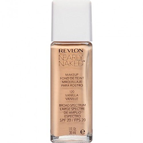 Revlon Nearly Naked Makeup - Vanilla - 1 oz