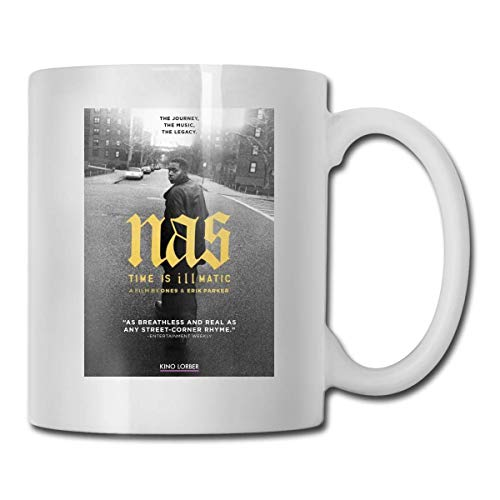NAS Illmatic Heat Changing Mug - Add Coffee Or Tea and A Happy Little Scene Appears - Comes in A Fun Gift Box