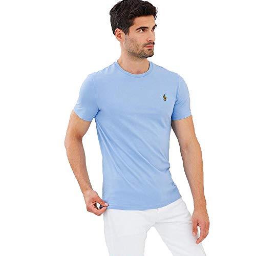 Ralph Lauren Camiseta Basica para Hombre Custom Slim Fit (XX