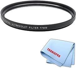 77mm Pro series Multi-Coated High Resolution Digital Ultraviolet Filter For Nikon AF-S Nikkor 70-200mm f/2.8G ED VR II Lens, Nikon AF-S NIKKOR 28-300mm f/3.5-5.6G ED VR Zoom Lens, Nikon 10-24mm f/3.5-4.5G ED AF-S DX Zoom-Nikkor Lens, Nikon AF-S NIKKOR 80-400mm f/4.5-5.6G ED VR Lens, Nikon AF-S Nikkor 16-35mm f/4G ED VR Wide Angle Zoom Lens