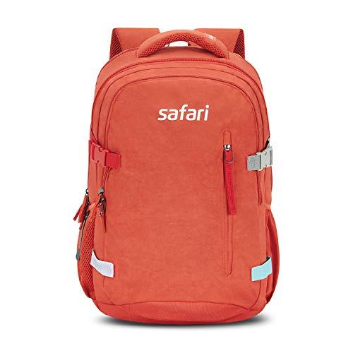 Safari 43 Ltrs Rust Laptop/Casual/School/College Backpack (SIGNATURE19CBRUS)