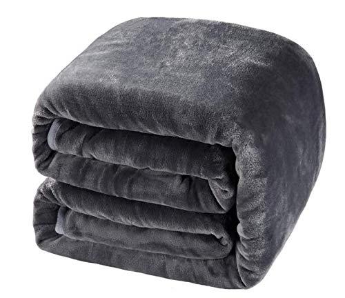 Balichun Queen Size Soft Blanket,Super Warm,Luxury,Lightweight,Fuzzy,Fleece Blanket All Season