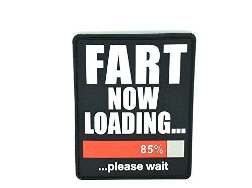 Fart Now Loading PVC Grand Airsoft Patch